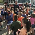 Firemen Visit for Fire Drill